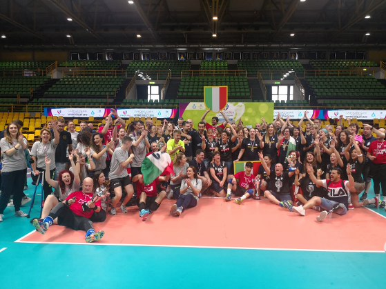 sitting volley Finale Modena 2019