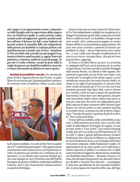 Visualizza la pagina 17 di SuperAbile Inail di Agosto 2017 in formato .pdf