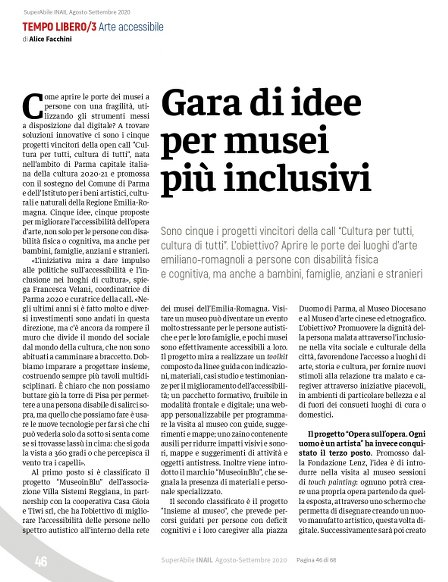 Visualizza la pagina 46 di SuperAbile Inail di Agosto 2020 in formato .pdf